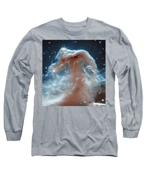 Horse Head Nebula Long Sleeve T-Shirt by Jennifer Rondinelli Reilly - Fine Art Photography