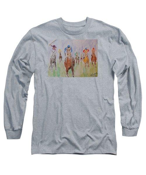 Horse Race Long Sleeve T-Shirt