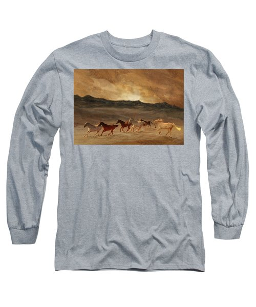 Horses Of Stone Long Sleeve T-Shirt