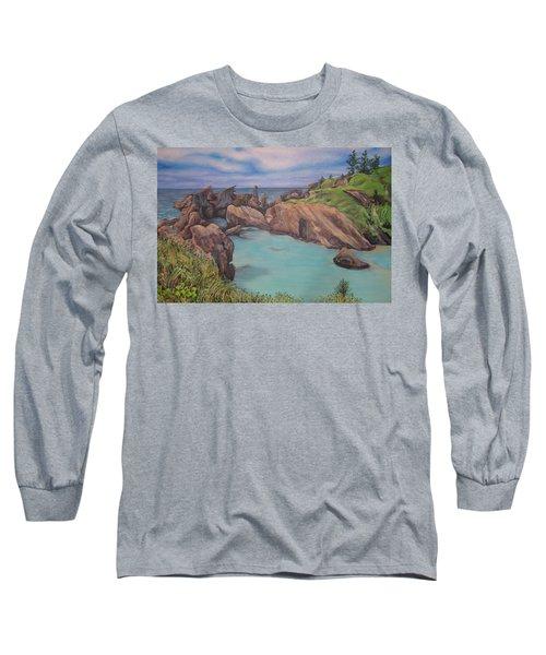 Horseshoe Bay Beach Bermuda Long Sleeve T-Shirt
