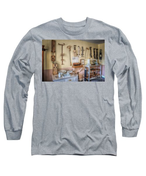 Hospital Museum Long Sleeve T-Shirt by Adrian Evans