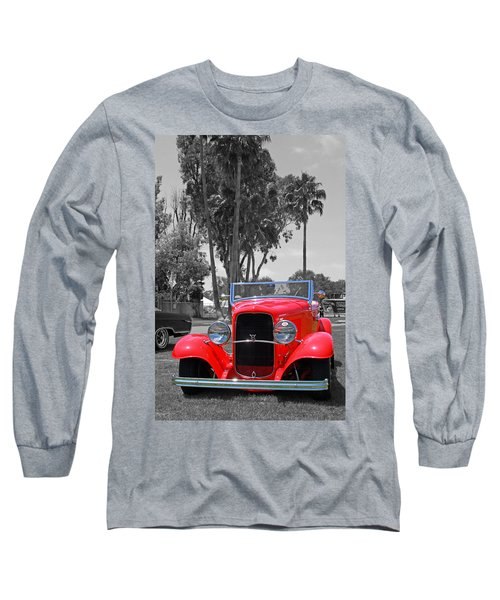 Long Sleeve T-Shirt featuring the photograph Hot V8 by Shoal Hollingsworth