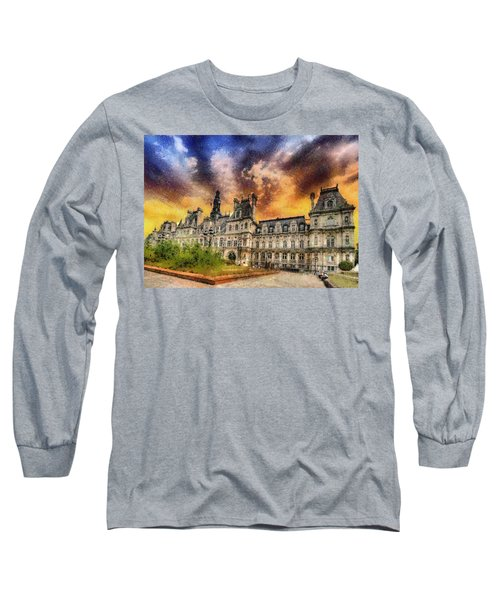 Sunset At The Hotel De Ville Long Sleeve T-Shirt