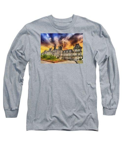Sunset At The Hotel De Ville Long Sleeve T-Shirt