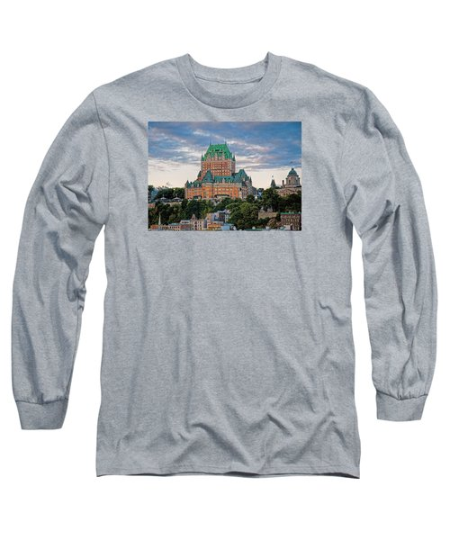 Fairmont Le Chateau Frontenac  Long Sleeve T-Shirt