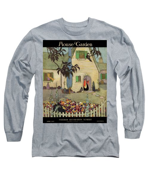 House & Garden Cover Illustration Of An Long Sleeve T-Shirt