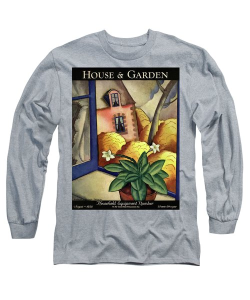 House And Garden Household Equipment Number Cover Long Sleeve T-Shirt
