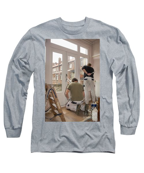 House Painters At Work Long Sleeve T-Shirt