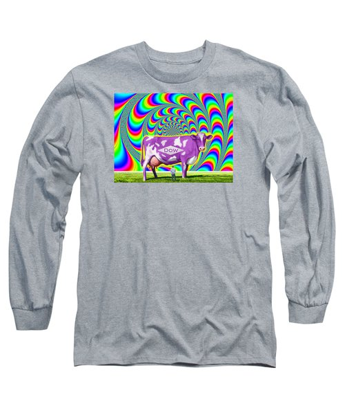 How Now Dow Cow? Long Sleeve T-Shirt by Scott Ross