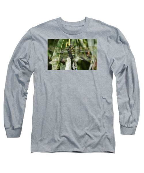 Huge Dragon-fly In Detail. Long Sleeve T-Shirt