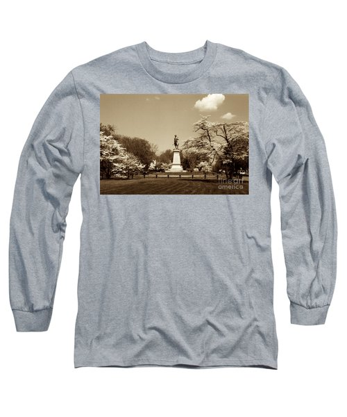 Hugh Mercer In Springtime II Long Sleeve T-Shirt