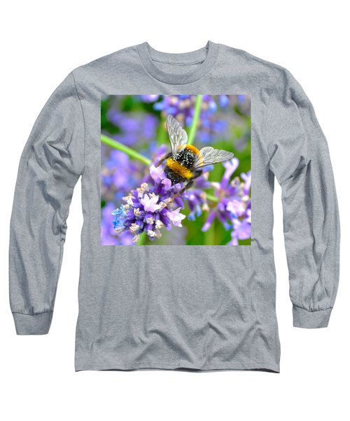 Hungry Bee Long Sleeve T-Shirt by Tine Nordbred