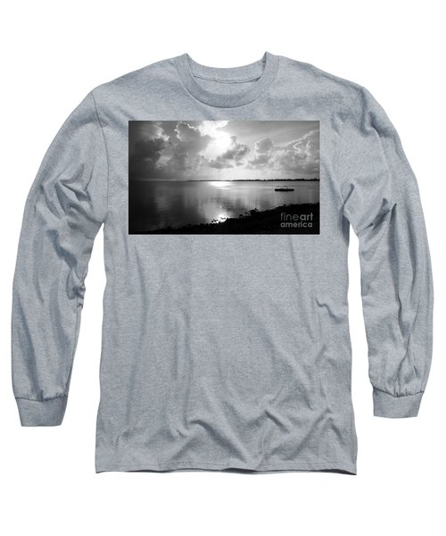 Hurry Sundown Long Sleeve T-Shirt by Amar Sheow