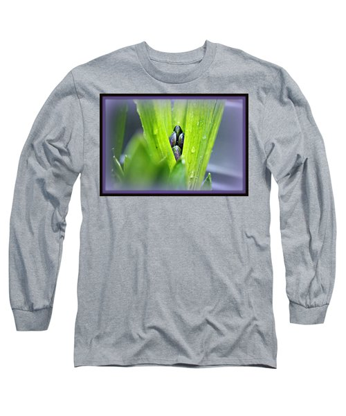 Long Sleeve T-Shirt featuring the photograph Hyacinth For Micah by Katie Wing Vigil
