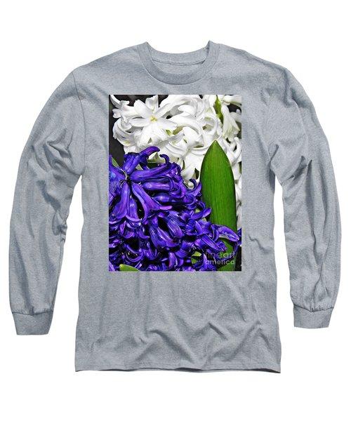 Hyacinths Long Sleeve T-Shirt by Sarah Loft
