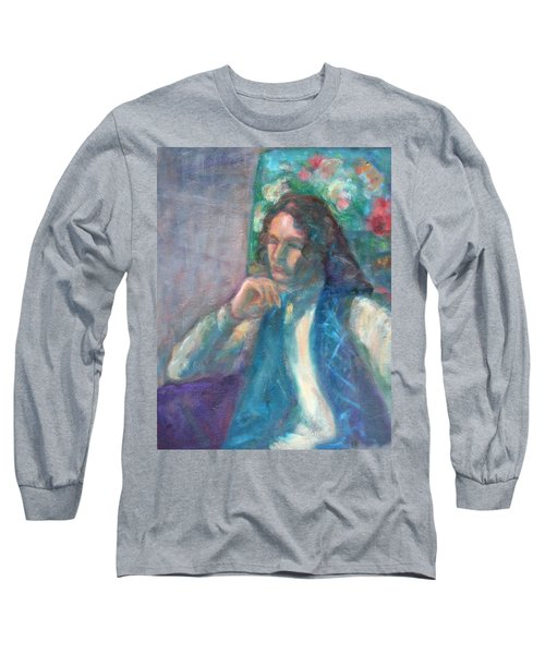 I Am Heathcliff - Original Painting  Long Sleeve T-Shirt
