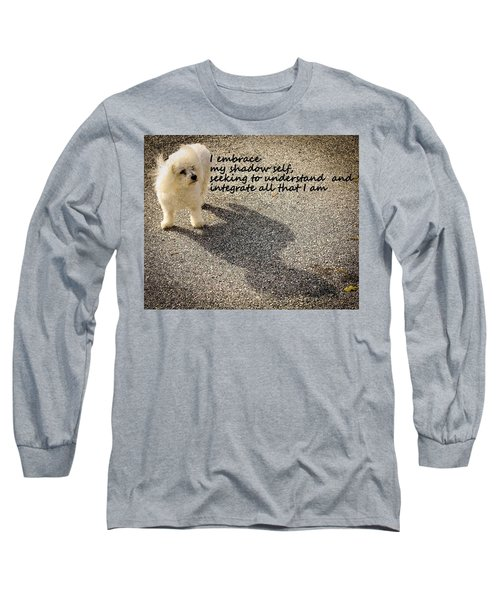 Long Sleeve T-Shirt featuring the photograph I Embrace by Patrice Zinck