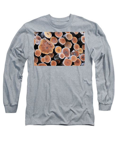 Ice Logs Long Sleeve T-Shirt