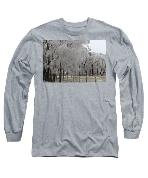 Ice Trees Long Sleeve T-Shirt