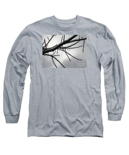 Iced Tree Long Sleeve T-Shirt by Ann Horn