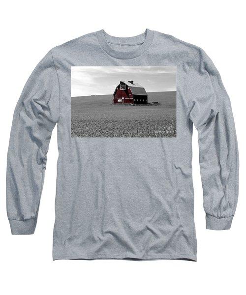 Icon Of The Palouse Long Sleeve T-Shirt by Sharon Elliott