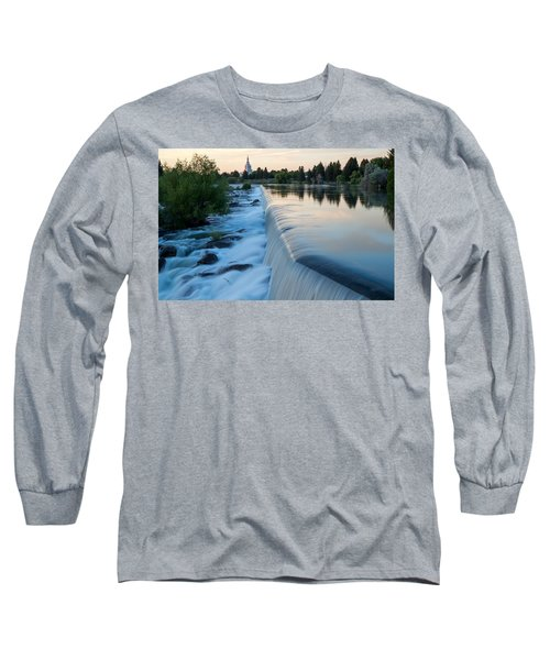 Idaho Falls Sunset Long Sleeve T-Shirt