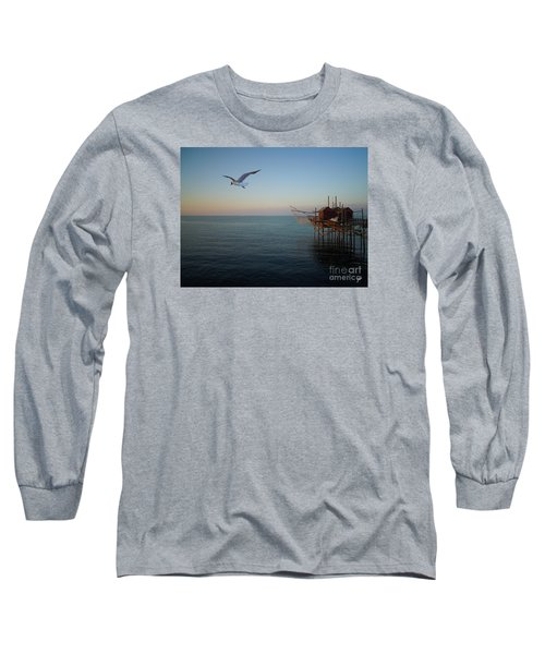 Il Trabucco - The Trebuchet Fishing Long Sleeve T-Shirt by Zedi