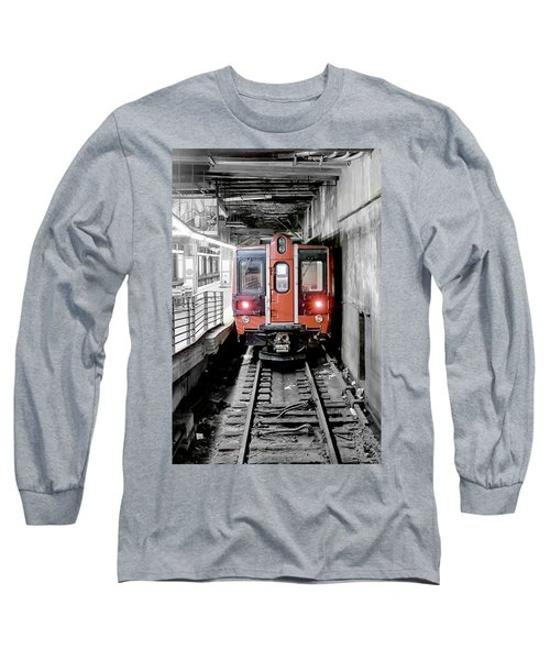 I'm Leaving On A Train Long Sleeve T-Shirt