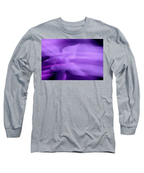 Imagination In Purple Long Sleeve T-Shirt