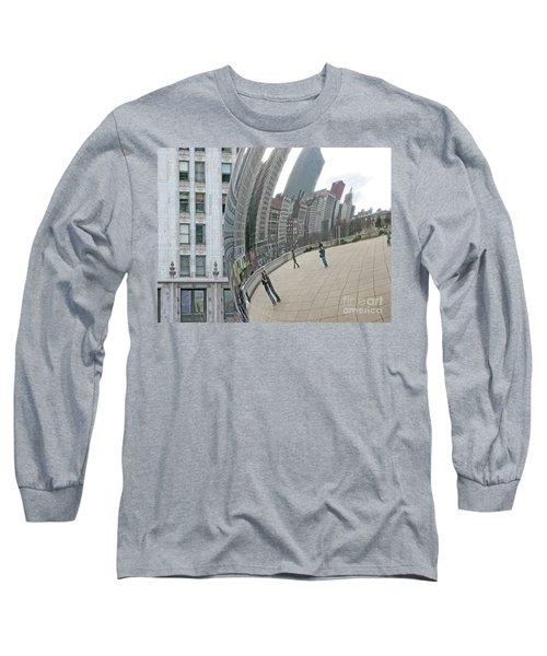 Imaging Chicago Long Sleeve T-Shirt by Ann Horn