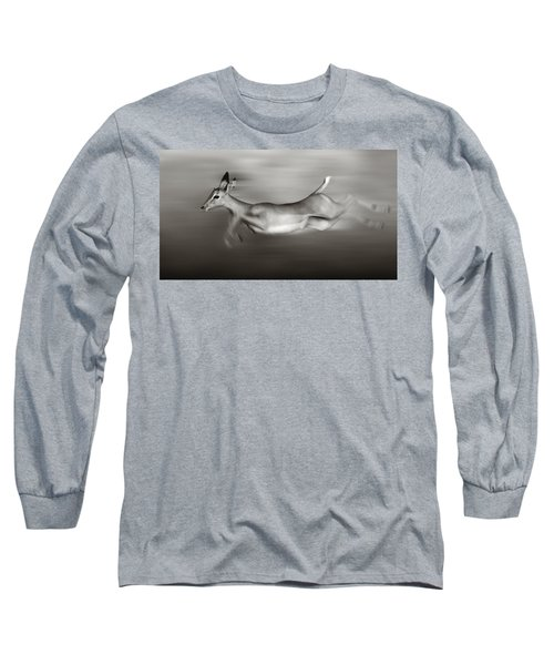 Impala Running  Long Sleeve T-Shirt