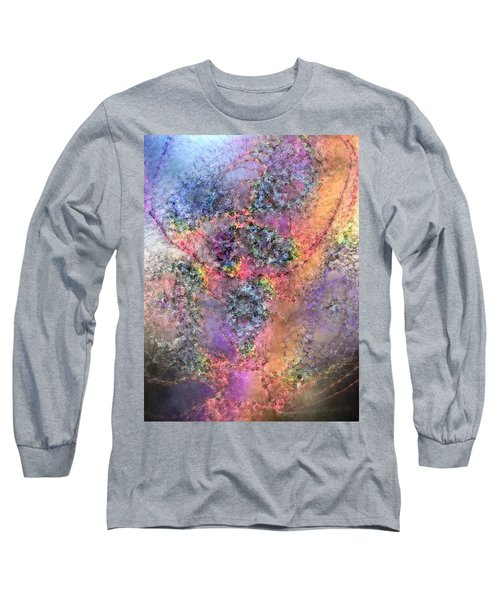 Long Sleeve T-Shirt featuring the digital art Impressionist Dreams 2 by Casey Kotas