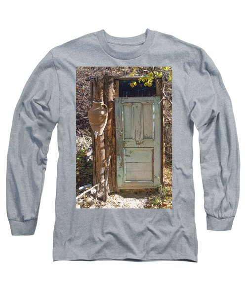 Improvised Outhouse Long Sleeve T-Shirt