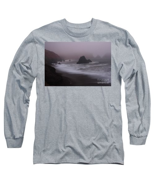 In A Fog Long Sleeve T-Shirt by Suzanne Luft