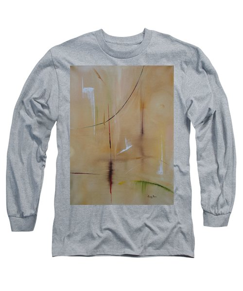 Long Sleeve T-Shirt featuring the painting In Pursuit Of Youth by Judith Rhue