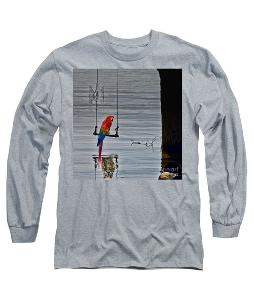 In Reflective Mood Long Sleeve T-Shirt