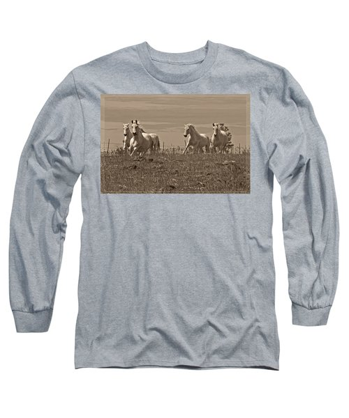 In The Field Long Sleeve T-Shirt by Wes and Dotty Weber