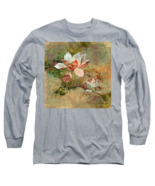 In The Lotus Land Long Sleeve T-Shirt