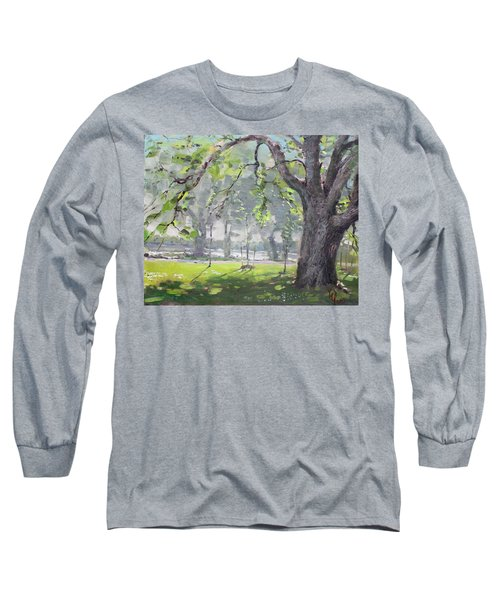 In The Shade Of The Big Tree Long Sleeve T-Shirt