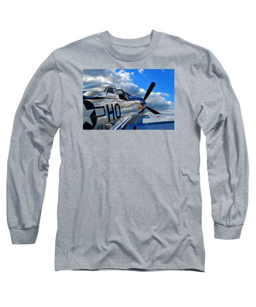 In To The Wild Blue Long Sleeve T-Shirt
