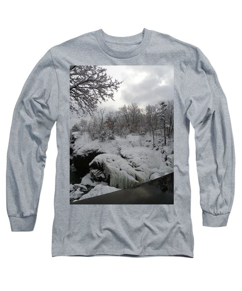Indian Leap In Winter Long Sleeve T-Shirt