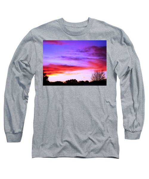 Indian Morning Sky Long Sleeve T-Shirt