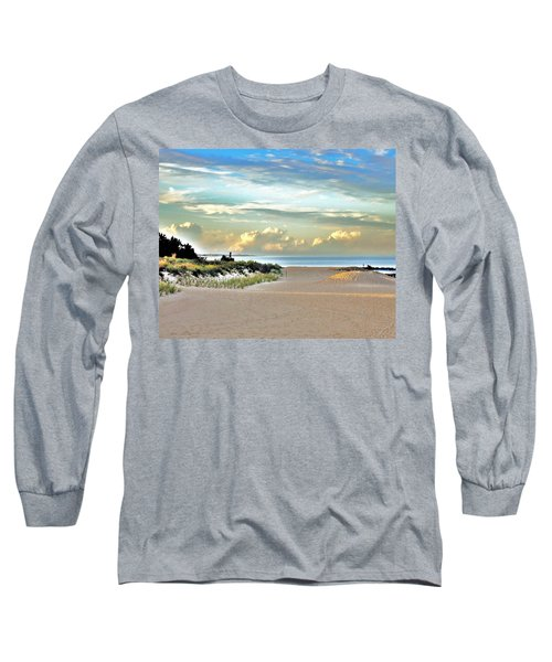 Indian River Inlet - Delaware State Parks Long Sleeve T-Shirt