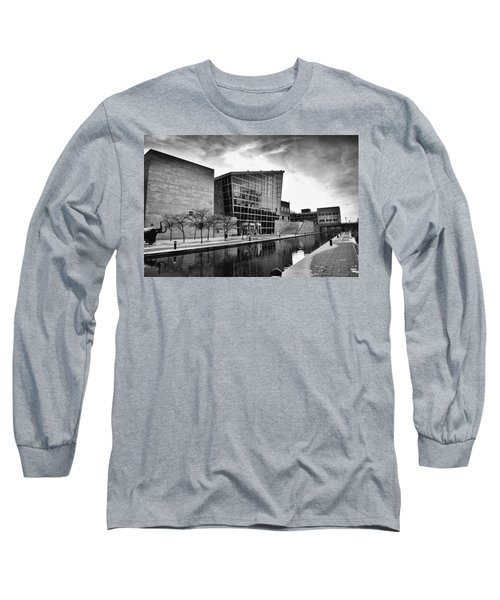 Indiana State Museum Long Sleeve T-Shirt by David Haskett