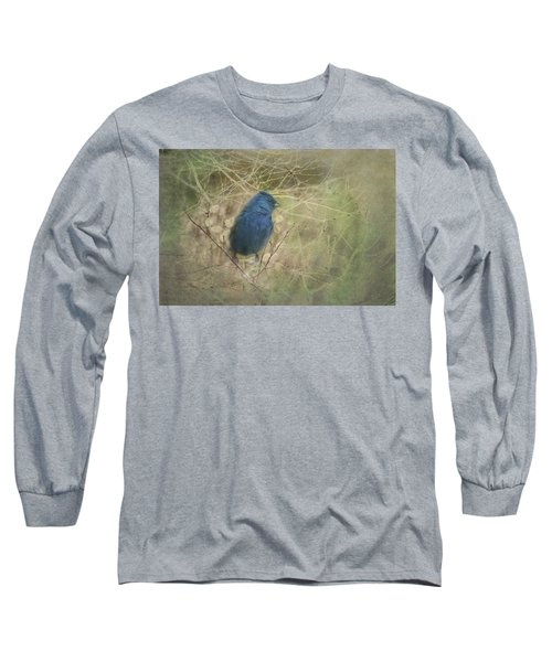 Indigo Blue Long Sleeve T-Shirt