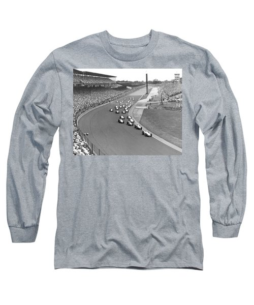 Indy 500 Race Start Long Sleeve T-Shirt