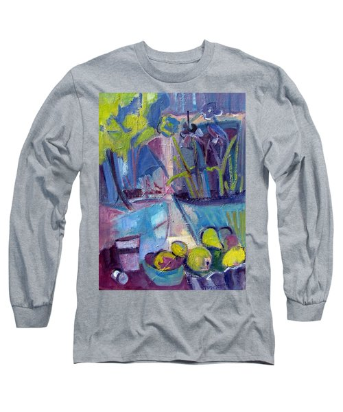 Inside And Outside Abstract Expressionism Long Sleeve T-Shirt