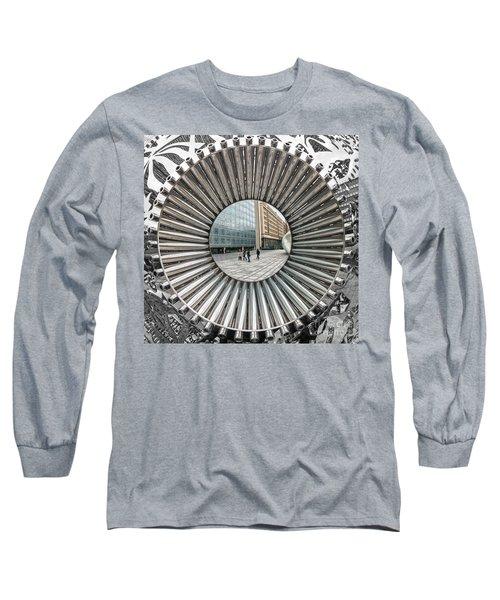 Institut Du Monde Arabe - Paris Long Sleeve T-Shirt by Luciano Mortula