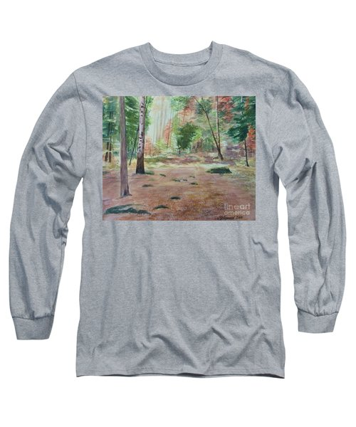 Into The Forest Long Sleeve T-Shirt by Martin Howard