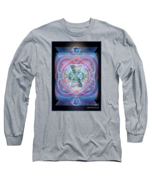 Intwined Hearts Chalice Wings Of Vortexes Radiant Deep Synthesis Long Sleeve T-Shirt